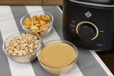 Домашняя арахисовая паста в блендере Lequip BS5