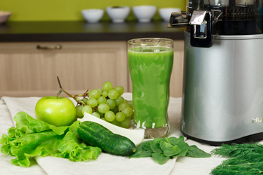 Зеленый сок в Hurom GI-SBE08