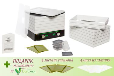 Комплектация дегидратора L'equip D-Cube Max LD-9013M