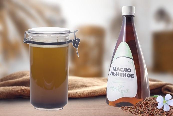 Льняное масло: домашнее и производственное
