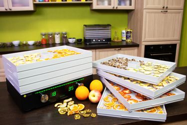 Дегидратор L'equip D-Cube LD-9013 с продуктами