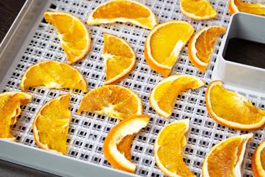 Апельсины, высушенные в дегидраторе L'equip D-Cube LD-9013