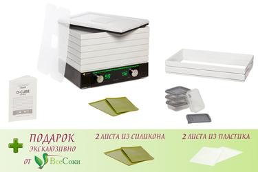 Комплектация дегидратора L'equip D-Cube LD-9013