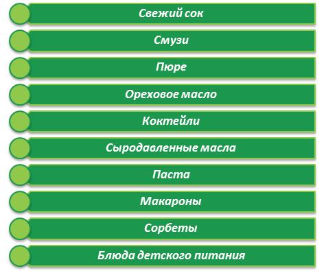 Возможности соковыжималки Omega 8006 / 8226