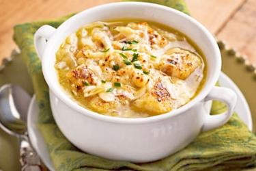 Луковый суп пошагово