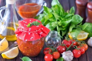 Классический рецепт хреновины без помидор