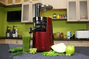 Отжим сока из зелени в Hurom Alpha Plus H-AA