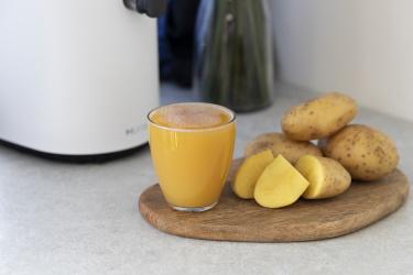 сок из картошки