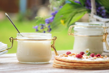 Приготовление крем-мёда
