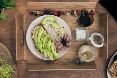 Калорийность тоста с авокадо