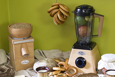 Блендер KoMoMix+ и мельница для зерна