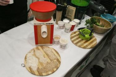 Домашняя мельница для зерна KoMoMio