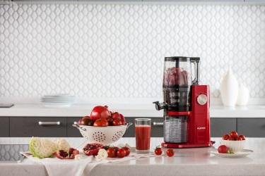 Красная соковыжималка Hurom Premium H-AI
