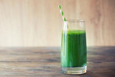 Зеленые соки – кладезь витаминов
