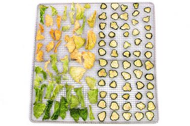 Здоровая еда сушёные овощи