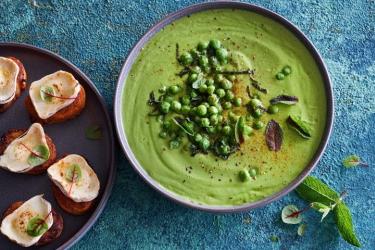 Рецепт крем-супа со шпинатом