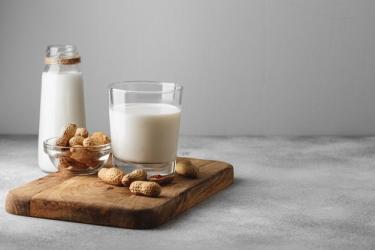 Рецепт арахисового молока