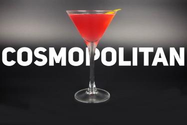 Алкогольный коктейль космополитен