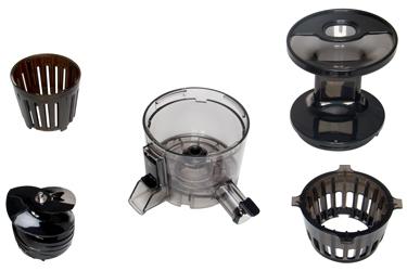 Детали отжимной корзины соковыжималки Hurom H-100