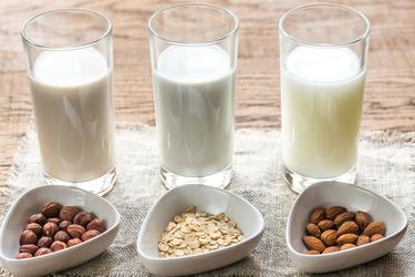 Разнообразное растительное молоко в соковыжималке Грин Стар Про