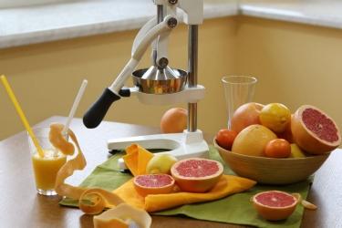 Механическая соковыжималка пресс Sana Citrus Press