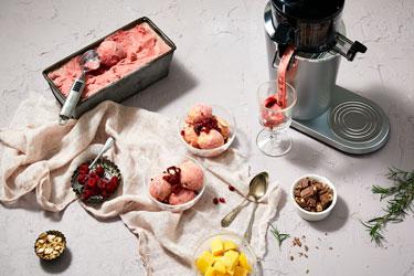 Новый год с Hurom: фруктово-ягодный сорбет