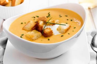 Рецепт крем-супа с сухариками