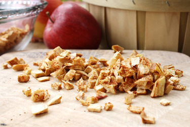 Яблочные снэки из дегидратора