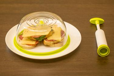 Вакуумирование бутербродов с помощью Say Fresh Gwell SF-1100