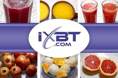 Обзор iXBT: Пресс для цитрусов / пресс для гранатов Sana Citrus Press