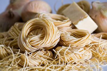 Спагетти в соковыжималке