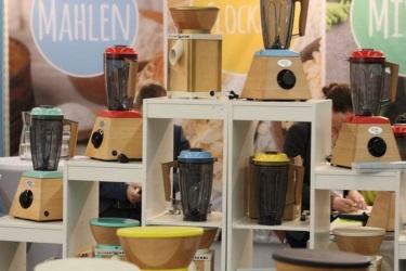 Продукция KoMo на выставке Biofach во Франкфурте