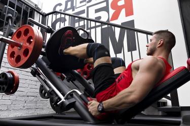 Спортивный массаж ног