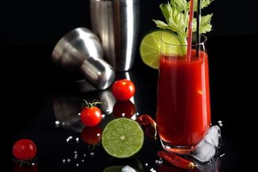 Томатный сок в Кровавой Мэри
