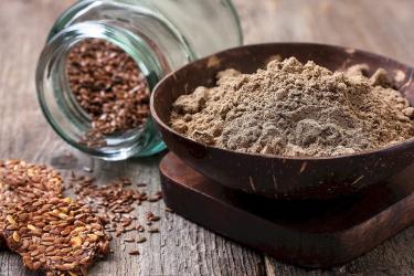 Пшенично-льняная мука