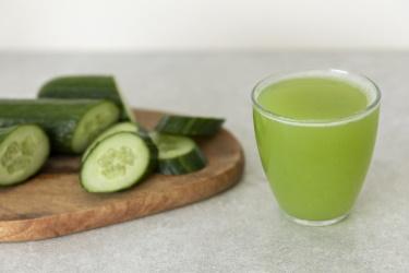 как сделать огуречный сок