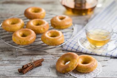 Рецепт пончиков из тыквы
