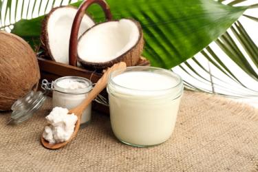 Домашнее кокосовое масло для волос