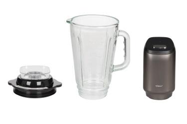 Большая чаша из закаленного стекла для мини-блендера Tribest Personal Blender Glass PBG-5050 с вакууматором Tribest Vacuum Pump TVP-1050